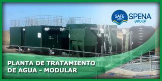 Planta de Tratamiento de Agua – Modular