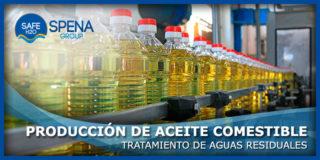 Tratamiento de Aguas Residuales en la Producción de Aceite Comestible