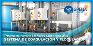 Tratamiento Primario del Agua y Aguas Residuales – Sistema de Coagulación y Floculación
